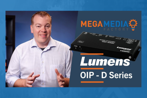 Lumens OIP Series AVoIP System